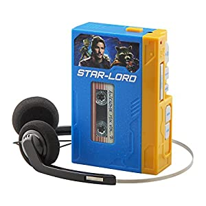 Gaurdians of the Galaxy Retro Walkman with Headphones - Voice distorter and record music on to device