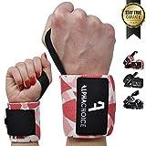 Alphachoice Handgelenk Bandagen Fitness Handgelenkschoner für Bodybuilding, Krafttraining, Crossfit...