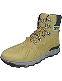 Caterpillar Men's Stiction Hi Ice Leather Waterproof Boots Brown 7 D(M) US