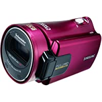 Samsung HMX-H300 Full HD Camcorder (30-fach opt. Zoom, 7,6 cm (3 Zoll) Display, Touchscreen, bildstabilisiert) rot