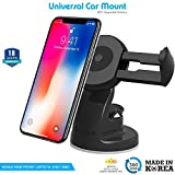 #5: ZAAP Quicktouch Three Car Mount Mobile Holder For Interior Fittings Car Windshield, Dashboard & Working Desks (Black)