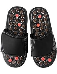 e0941f21567b4 Pantofole per Massaggio ai Piedi Scarpe per Assistenza Sanitaria  Riflessologia Massaggio Sandali Piedi Anziani Prodotto per la Cura…