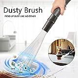 Yukio HomeFun - Multifunktionale Staubsaugerbürste Universal Dust Bürste Dusty Brush Reinigungswerkzeug für Lüftungsöffnungen, Tastaturen, Schubladen, Jalousien, Möbel