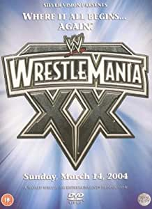 WWE WrestleMania XX [DVD] [2004]
