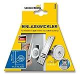 Schellenberg 50001 Maxi-Einlasswickler für Rolläden, Breite 23 mm, Lochabstand 13,5 cm