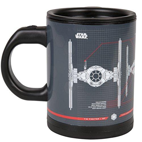 Underground Jouets Star Wars Tie Fighter SelfStirring Cup mischen Sie Ihr Getränk mit der Force 12 -