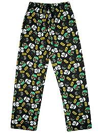 Hommes Officiel Star Wars Pantalon De Détente Long Bas De Pyjama Noir tailles S M L XL