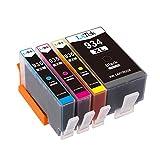 LxTek Ersatz für HP 934 935 934XL 935XL Druckerpatronen Kompatibel mit HP Officejet Pro 6830 6820 6230 6812 6815 6835 (1 Schwarz, 1 Cyan, 1 Magenta, 1 Gelb)
