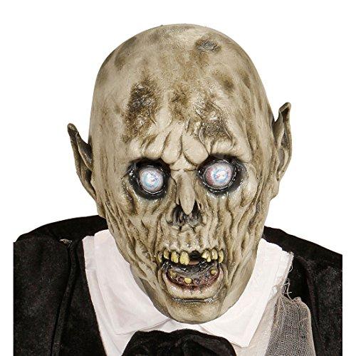 ombi Maske Psycho Latexmaske Bräutigam Zombiemaske Horrormaske Ork Gruselmaske Monster Halloween Kostüm Zubehör Erwachsene ()