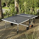 Table de Ping Pong 250S CROSSOVER OUTDOOR- Gris, Votre table...