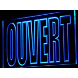 Enseigne Lumineuse j179-b OUVERT Open Shop Bar N?on
