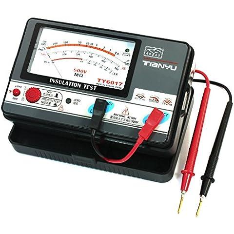 Allarme automatico V, Tester analogico di misurazione della resistenza di