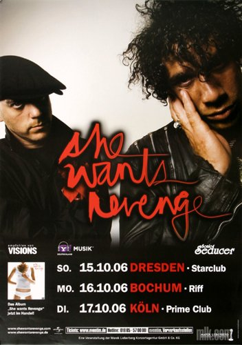 she-wants-revenge-these-2006-konzertplakat-konzertposter