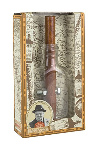 Preisvergleich Produktbild Churchill's Cigar and Whiskey Bottle Puzzle