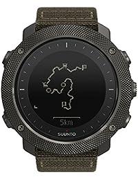 Suunto GPS Outdoor-Uhr zum Angeln, Jagen, Wandern, Bis zu 100 Std. Akkulaufzeit, Wasserdicht, Traverse Alpha