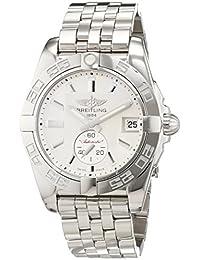 Breitling Damen-Armbanduhr Galactic Chronograph Automatik Edelstahl A3733012/G706/376A