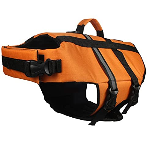 American Kennel Club Pet Flotation Life Vest - Orange XL
