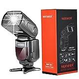 Neewer NW-561 Speedlite Blitzbeleuchtung Blitzgerät mit LED Bildschirm für Canon & Nikon DSLR Kamera und alle andere DSLR Kamera mit Standard Blitzschuh