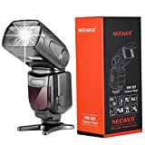Neewer® NW-561 speedlite Blitzbeleuchtung Blitzgerät mit LED Bildschirm für Canon & Nikon DSLR kamera wie Canon Rebel T5i T4i T3i T3 T2i T1i SL1, EOS 700D 650D 600D 1100D 550D 500D 100D 6D, 1Ds Mark III, 1Ds Mark II, 5D Mark III, 5D Mark II, 1D Mark IV, 1D Mark III and Nikon D7200 D7100 D7000 D5200 D5100 D5000 D3000 D3100 D300 D300S D700 D600 und alle andere DSLR Kamera mit Standard Blitzschuh