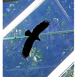Set 3: Gewächshaus Aufkleber (Set 1-2: zusätzlich 3 Vögel schwarz 30x14 cm) Beschreibung beachten!