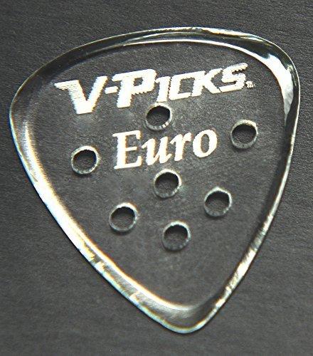 v-picks Euro Gitarre pick-pack (X3) E13W/Bonus RIS Plektrum (x1) (Plektren V-picks)