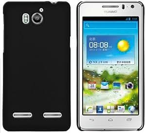 mumbi Schutzhülle Huawei Ascend G615 G600 Hülle (harte Rückseite) schwarz