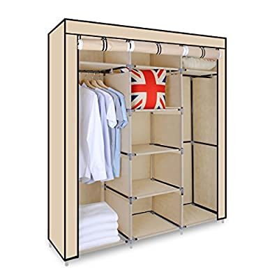 Triple Canvas Wardroble - low-cost UK light shop.