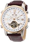 Constantin Durmont Herren-Armbanduhr Calendar Analog Automatik CD-CALE-AT-LT-STRG-WH