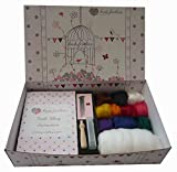Heidifeathers® Needle Felting Vegan Kit
