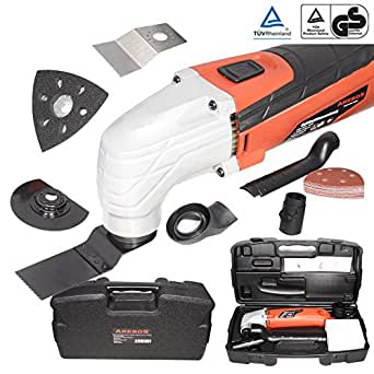 Arebos outil multifonctions oscillant multifunction tool kit 300 W