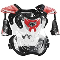 FOX R3 ROOST DEFLECTOR RED SM 50-120+ LB/4'3-5'4 by Fox Racing
