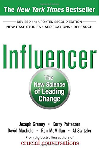 Influencer: The New Science of Leading Change, Second Edition (Hardcover) by Joseph Grenny (1-Jun-2013) Hardcover