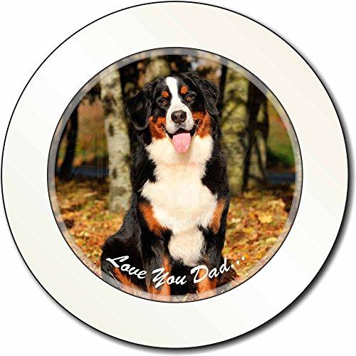 Berner Sennenhund 'Love You Dad' AutovignetteGenehmigungsinhaber Geschenk
