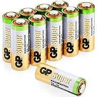 GP Super 23A 12V High Voltage Alkaline Battery (Pack of 10)