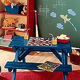 denoda Tafelfolie - grün - Wandsticker (Wandsticker Wanddekoration Wohndeko Wohnzimmer Kinderzimmer Schlafzimmer Wand Aufkleber)