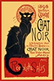 LAMINATED Chat Noir Black Cat Theatre Mini Poster Measures 24 x 17 (61 x 43 cm) by Laminated Posters