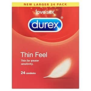 Durex Thin Feel Condoms (Pack of 24)