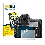 brotect [1er Pack] Panzerglasfolie Nikon D850 Schutzfolie Flexible Glas-Folie [AirGlass] Panzerfolie Displayschutzfolie