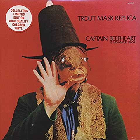 Captain Beefheart Trout Mask - CAPTAIN BEEFHEART Trout Mask Replica (2-LP) (red