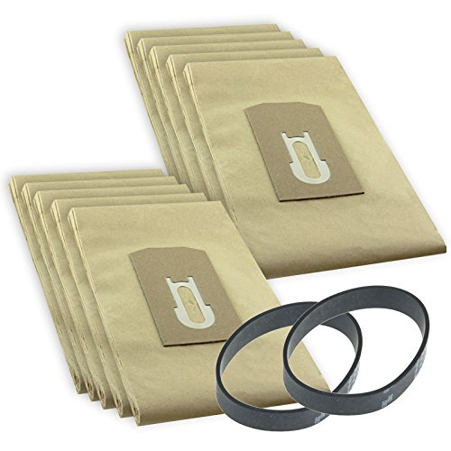 spares2go-dust-bags-drive-belt-kit-for-oreck-xl9300e-vacuum-cleaner-pack-of-10-bags-2-belts