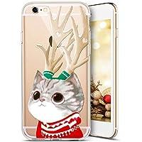 iPhone 7 Plus Hülle,iPhone 8 Plus Hülle,SainCat Weihnachten Weihnachtsmann Muster Silikon Hülle TPU Schutz Handy... preisvergleich bei billige-tabletten.eu