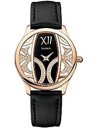 amazon co uk balmain swiss made watches balmain women s balmazing diamond 35mm leather band quartz watch b1473 32 62