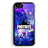 CSFNGCE FN Game Character Fashion Tempered Glass TPU Phone Case Cover Shell for Coque...