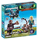 Playmobil 70040 - Hiccup e Astrid con Baby Dragon