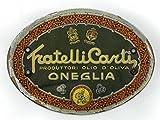 Cartoncini per damigiane di olio d'oliva.