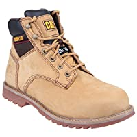 Caterpillar Electric Mens 6 Black Safety Boots (10 UK) (Honey)