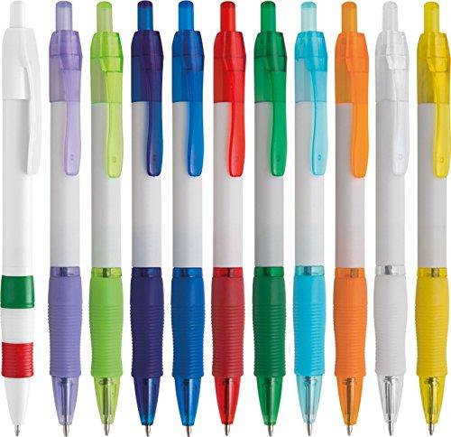 100 pezzi penne personalizzabili personalizzate con nome logo o slogan gadget promozionali - jane pd388 - stampa 1 colore