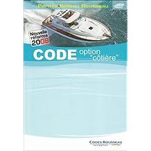 """Code option """"côtière"""" : Permis bateau Rousseau"""