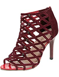 1d827cf67 Amazon.co.uk  Red - Flip Flops   Thongs   Women s Shoes  Shoes   Bags