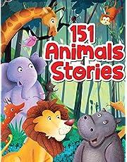 151 Animal Stories - Padded & Glitered Book